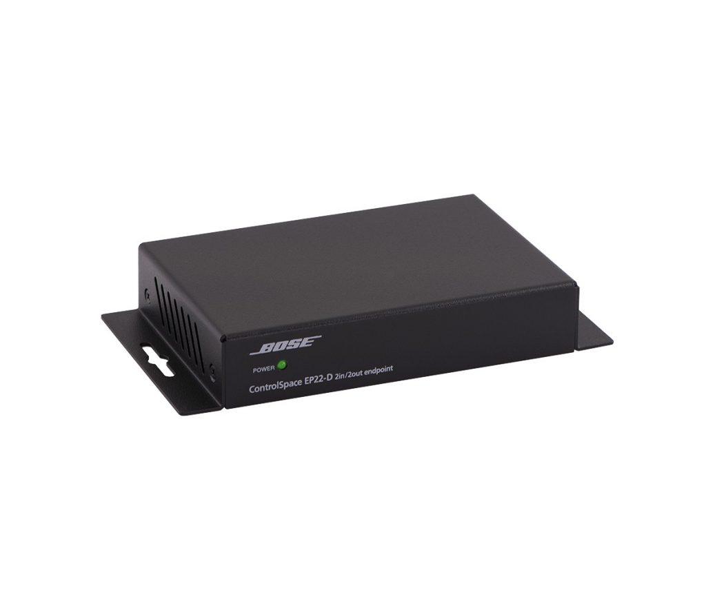 BOSE EP22-D 2 輸入/2 輸出 DANTE 端點器