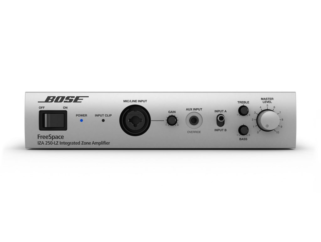 BOSE FREESPACE IZA 250-LZ 整合型區域功率擴大機