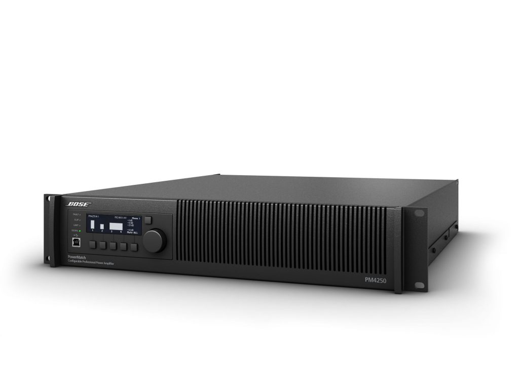 BOSE PowerMatch PM4250/PM4250N 可配置型專業功率擴大機