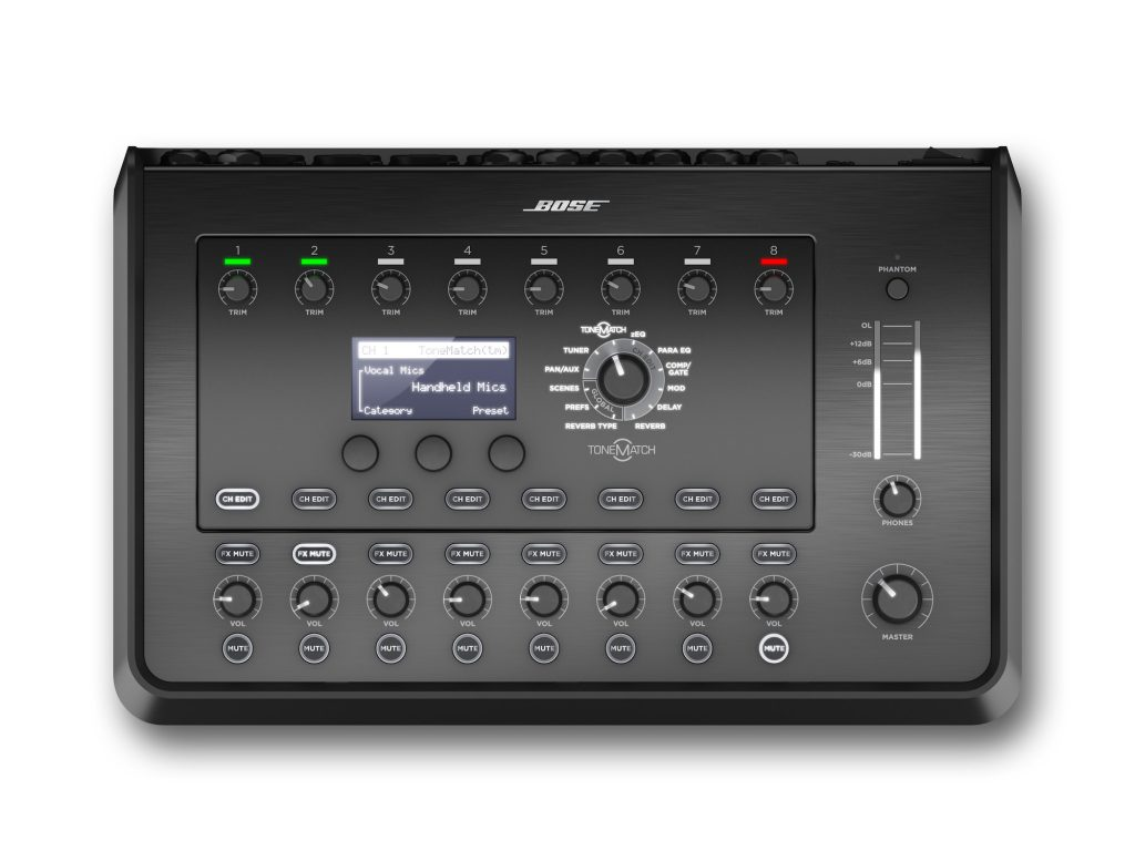BOSE T8S TONEMATCH 八音軌個人混音器