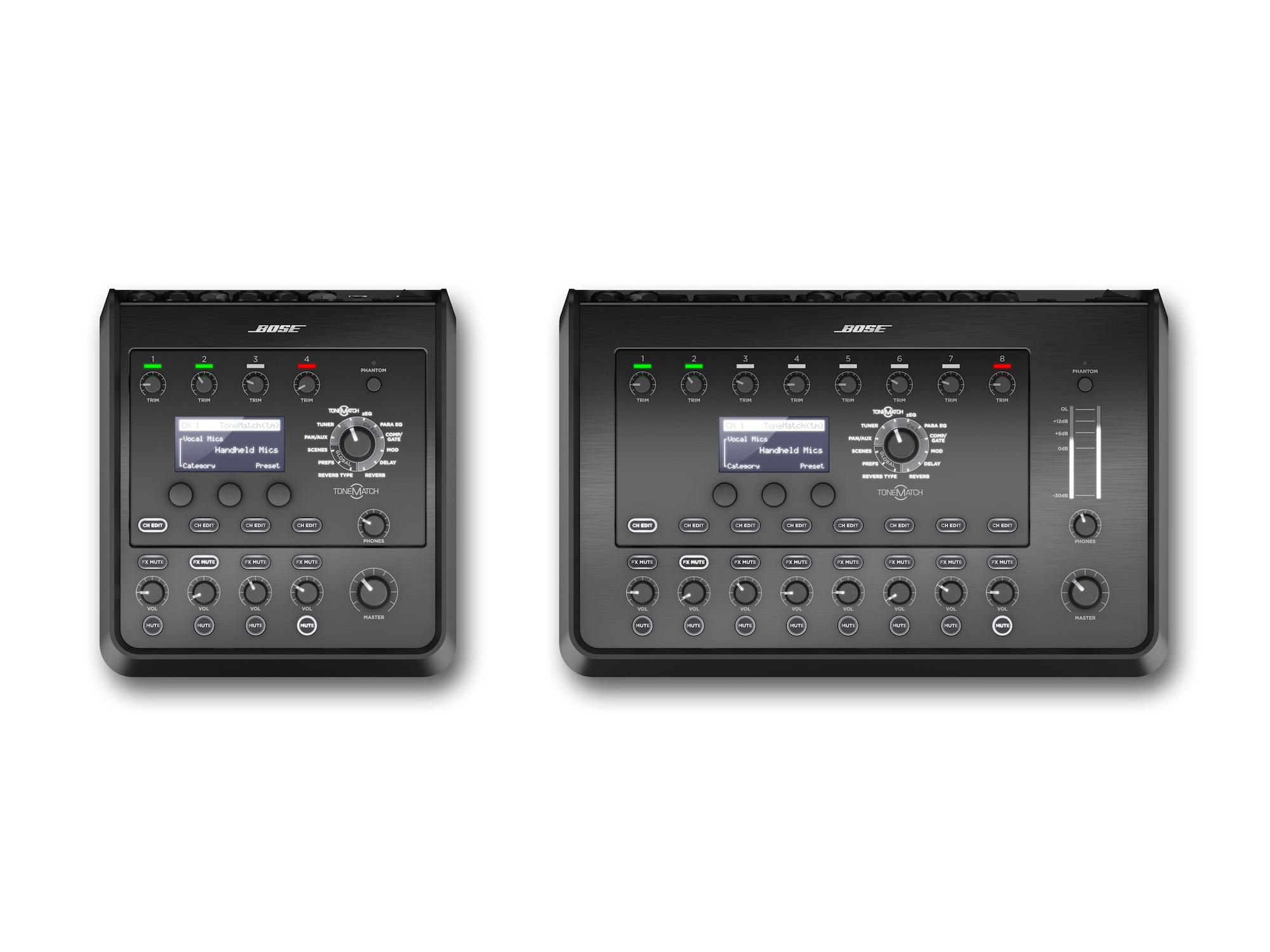 令人激賞的揚聲系統,Bose T8S/T4S,是音樂表演人的真正夥伴