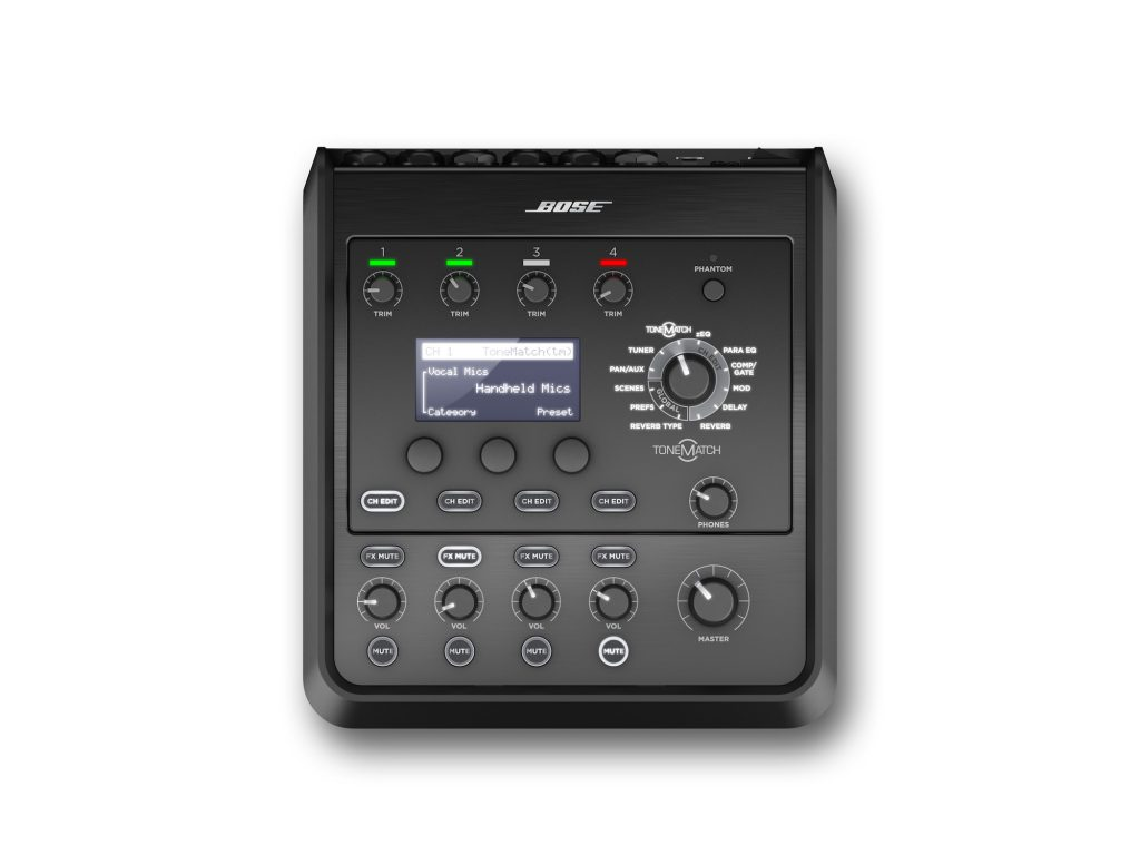 BOSE T4S TONEMATCH 四音軌個人混音器