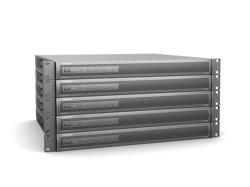 2019 年 2 月 ISE 展會上,Bose Professional 全新發表了新一代極高性價比的功率擴大機 PowerSpace。此系列共有 5 款機型,合適的各式功率和DSP選項,提供了商業應用的最優質選擇。