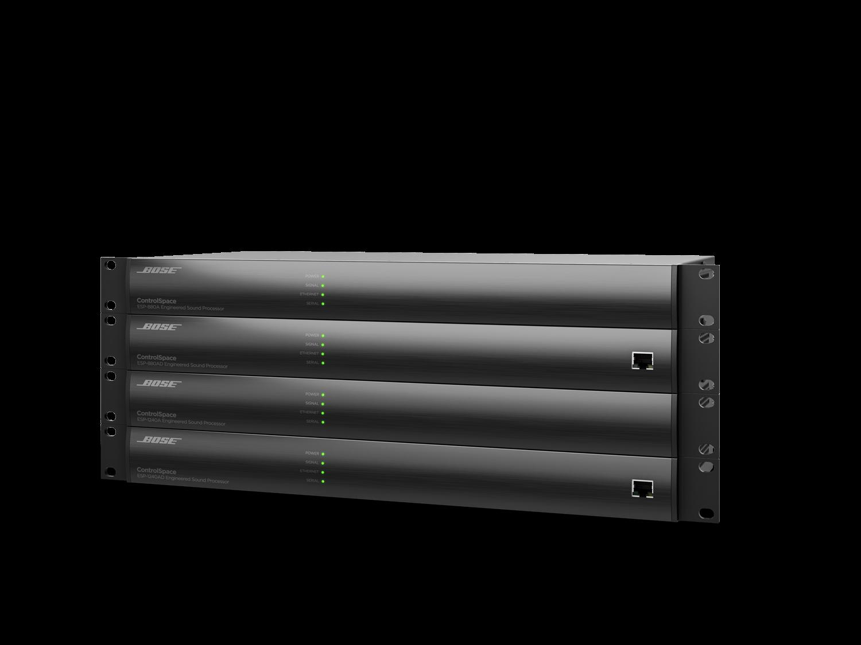 結合多樣化數位音訊處理功能的 Bose ControlSpace 系列訊號處理器,全系列四個機種已升級內建數位音訊I/O,即日起上市。